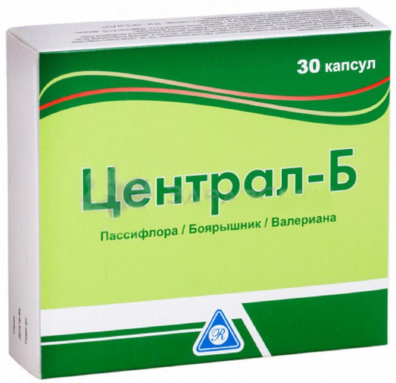 Централ-Б капсулы №30223926Адифарм ЕАД, Болгария, БАД - источник флавоновых гликозидов, оказывает седативное действие Сфера применения: НеврологияУспокоительное