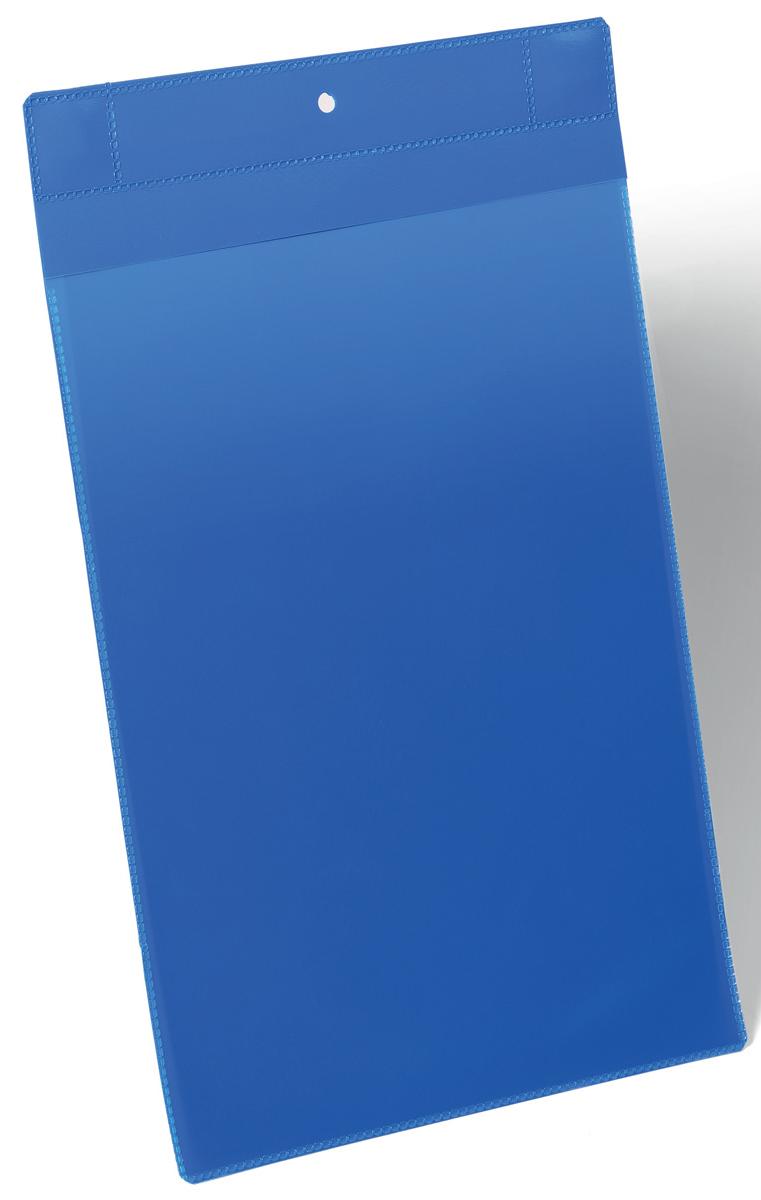 Durable Карман для маркировки и документов цвет синий1747-07Карман для маркировки с двумя неодимовыми магнитами. Применяется для размещения маркировочной информации на металлических поверхностях, таких как складские стеллажи, металлические контейнеры. Синяя подложка-основа и прозрачное окошко выполнены из износостойкого полипропилена. Не бликует, что удобно для сканирования, не вынимая маркировочный вкладыш. Быстрая и удобная замена вкладыша. Возможно размещение на улице: благодаря специальному клапану обеспечивается защита вкладыша от пыли и дождя.Внутренние размеры: А4Внешние размеры: 223 х 368 мм (Ш х В)Упаковка: 10 штукДля оформления вкладыша воспользуйтесь бесплатной программой DURAPRINT
