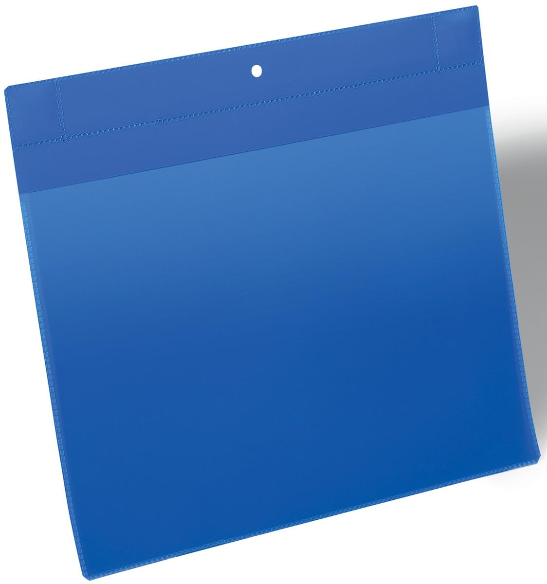 Durable Карман для маркировки и хранения документов цвет синий