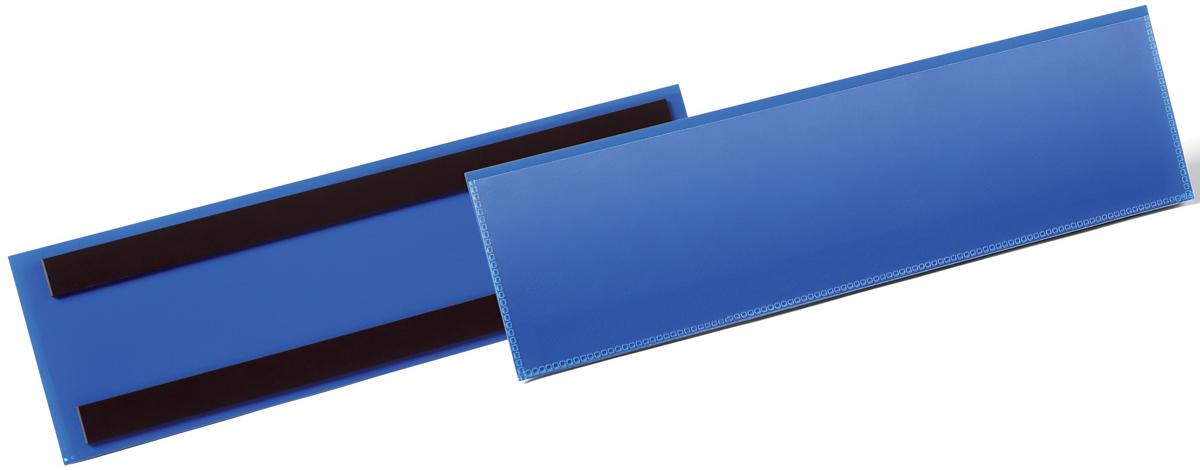 Durable Карман магнитный для маркировки цвет синий 1758-07 -  Папки