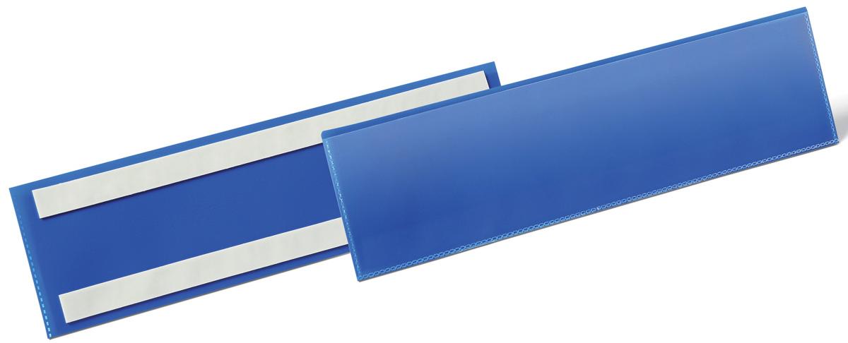 Durable Карман cамоклеящийся для маркировки 1796-071796-07Самоклеящийся карман с двумя клейкими полосами на тыльной стороне. Выполнен из плотного износостойкого полипропилена. Прозрачное окно на лицевой стороне не бликует, что позволяет сканировать документ, не извлекая его из кармана.Рекомендован для маркировки паллет, стеллажей, контейнеров и т.д.Размеры вкладыша: 1/3 A4 горизонтальный (21 x 29,7 см).Размеры кармана: 311 x 225 x 1,7 мм.