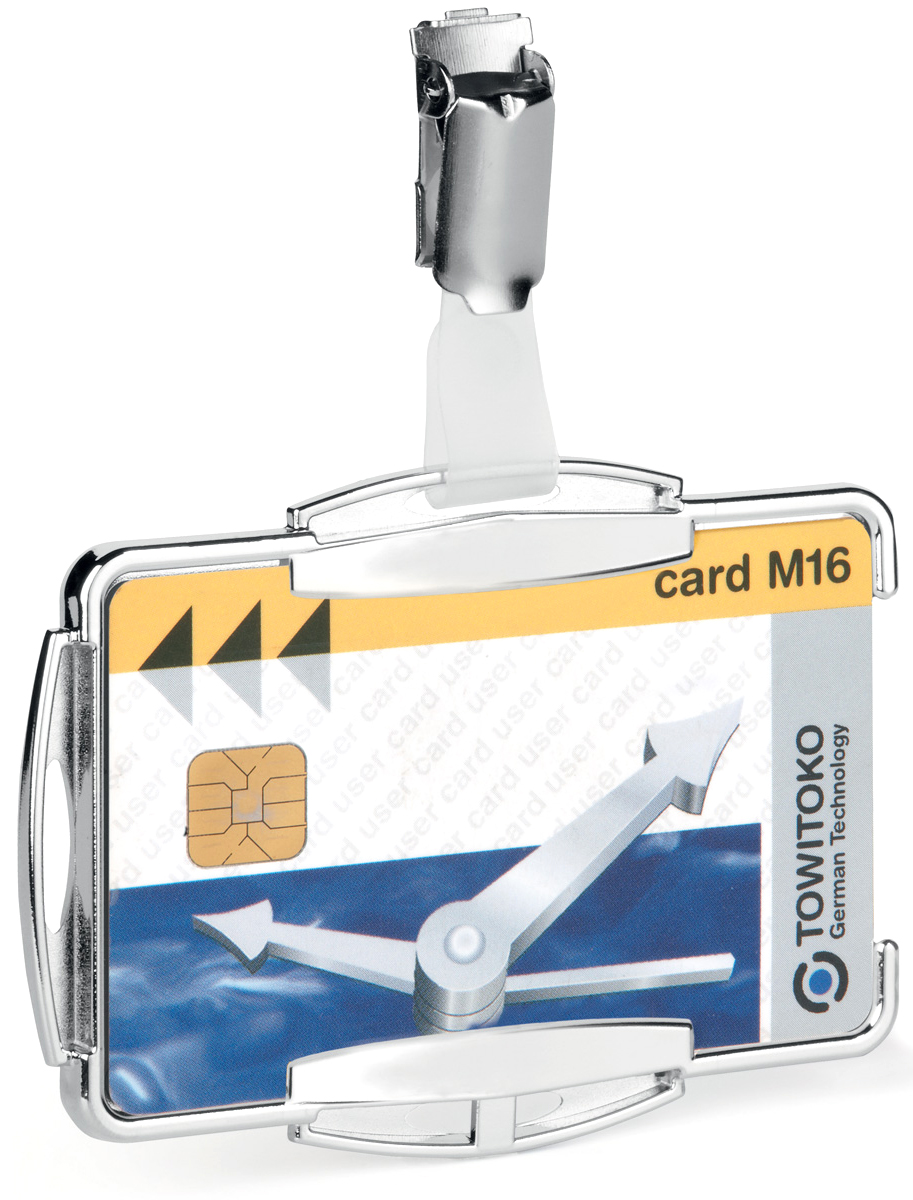 Durable Держатель для пластиковой карты/пропуска Rfid Secure 8901-23