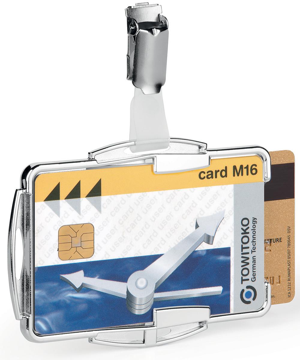 Durable Держатель для пластиковых карт/пропусков Rfid Secure -  Визитницы