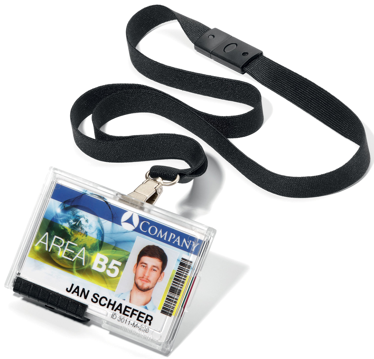 Durable Держатель для пластиковых карточек Pushbox 8925-01 -  Визитницы