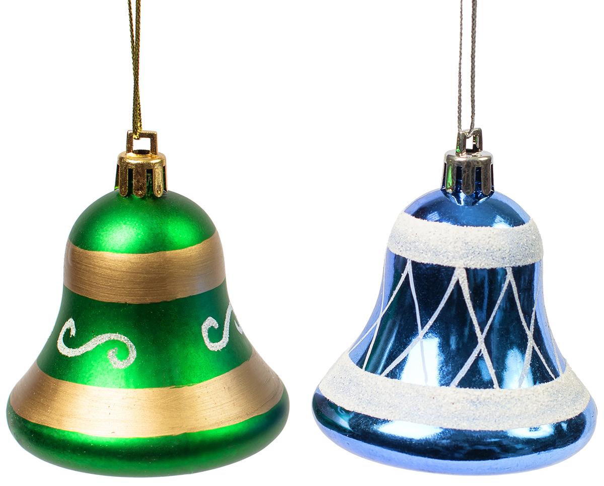 Украшение новогоднее подвесное Magic Time, 2 шт. 75462 украшение настенное в виде головы обезьяны rudyard