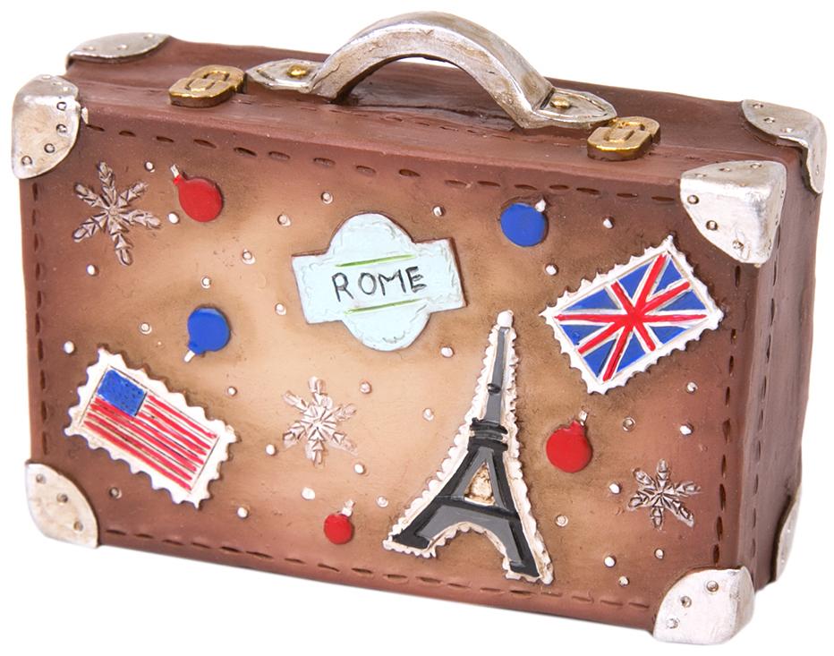 Украшение новогоднее подвесное Magic Time Чемодан чемодан samsonite orfeo цвет серебристо голубой 72 л cc4 25002