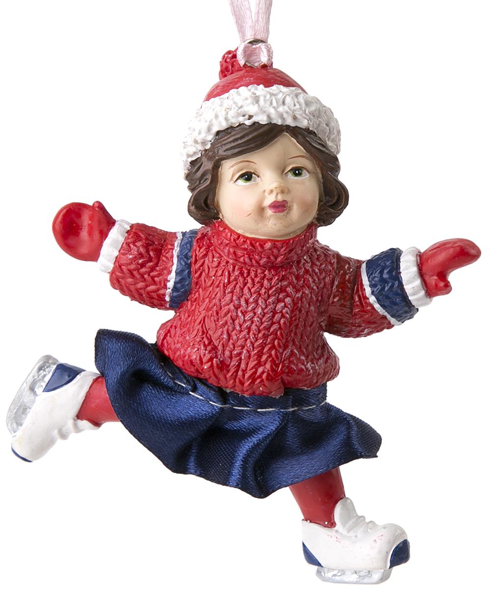 Украшение новогоднее подвесное Magic Time Верочка. 7557075570Оригинальное новогоднее украшение Magic Time выполнено из полирезины в виде девочки. С помощью специальной петельки украшение можно повесить в любом понравившемся вам месте. Но, конечно же, удачнее всего такая игрушка будет смотреться на праздничной елке. Новогодние украшения приносят в дом волшебство и ощущение праздника. Создайте в своем доме атмосферу веселья и радости, украшая всей семьей новогоднюю елку нарядными игрушками, которые будут из года в год накапливать теплоту воспоминаний.