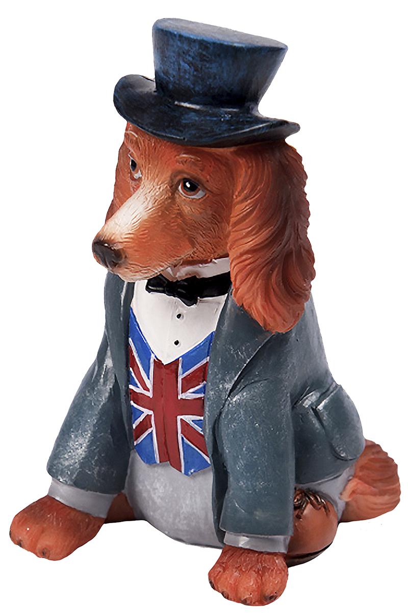 Фигурка декоративная Magic Time Собака-англичанин. 7560475604Фигурка декоративная Magic Time, выполненная из полирезины, станет оригинальным подарком для всех любителей необычных вещей. Она выполнена в виде собаки. Изысканный сувенир станет прекрасным дополнением к интерьеру. Вы можете поставить фигурку в любом месте, где она будет удачно смотреться и радовать глаз.