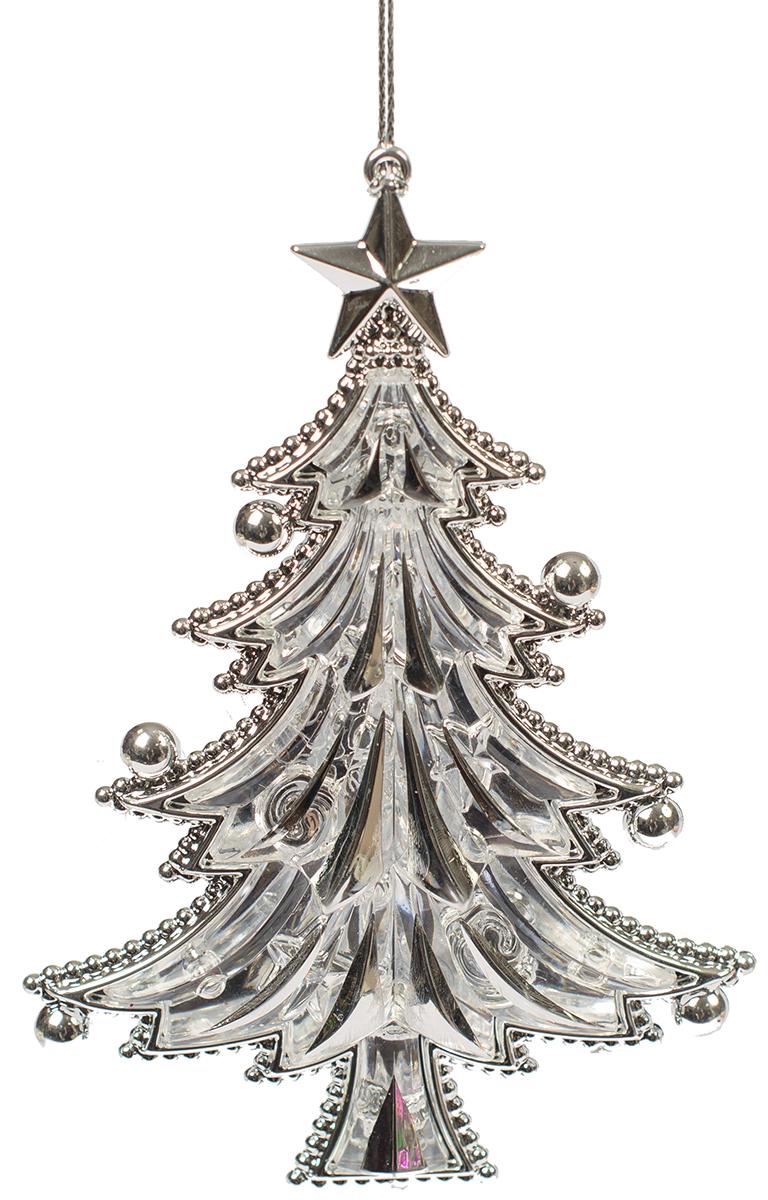 Новогоднее подвесное украшение Magic Time Праздничная елка75967Новогоднее украшение Magic Time, выполненное из полистирола, отлично подойдет для декорации вашего дома и новогодней ели. С помощью специальной петельки украшение можно повесить в любом понравившемся вам месте. Но, конечно, удачнее всего оно будет смотреться на праздничной елке.Елочная игрушка - символ Нового года. Она несет в себе волшебство и красоту праздника. Такое украшение создаст в вашем доме атмосферу праздника, веселья и радости.
