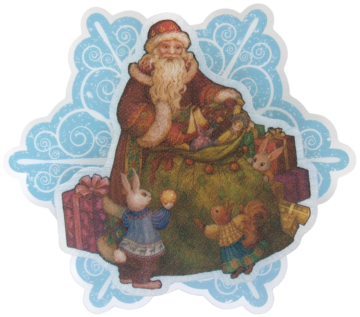 Украшение новогоднее Magic Time Мешок с подарками, с подсветкой статуэтки magic time обезьяна клоун с кеглями
