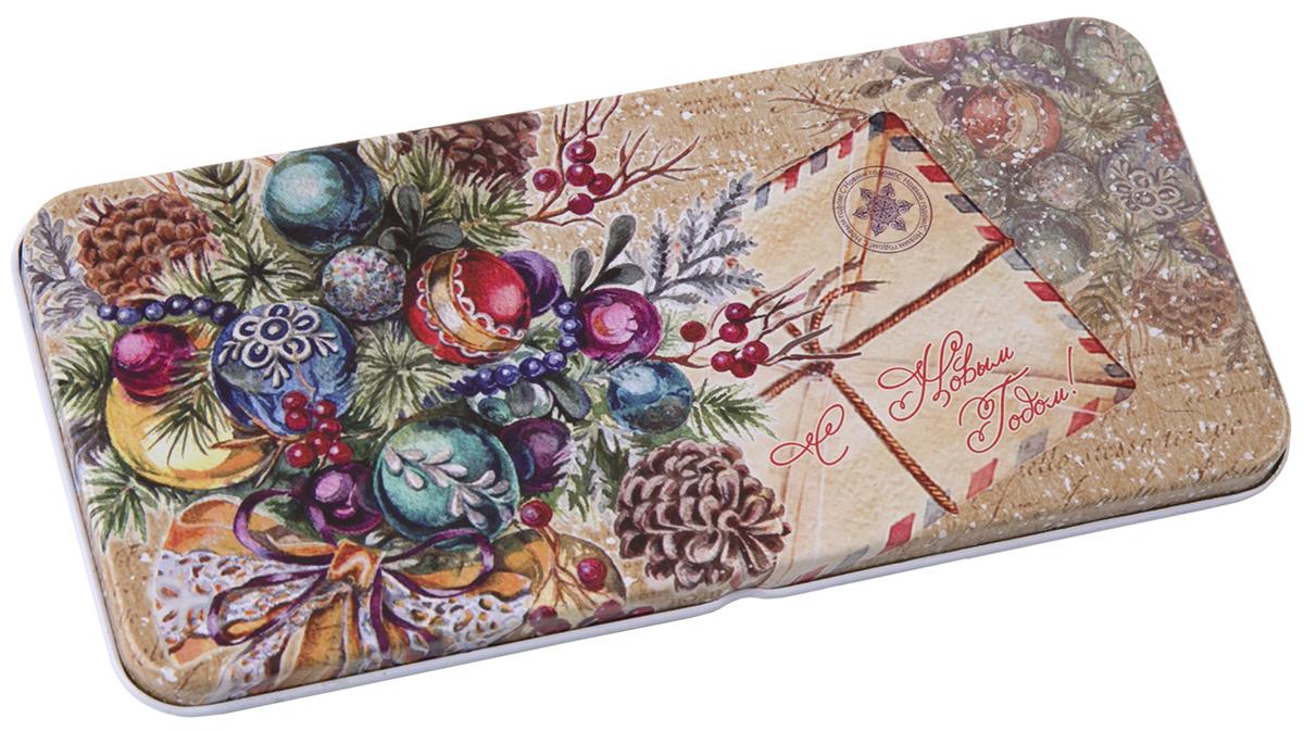 Коробочка для денег подарочная Magic Time Еловый букет. 76336 подарочная коробочка для денег конверт для денег сердечки 43685
