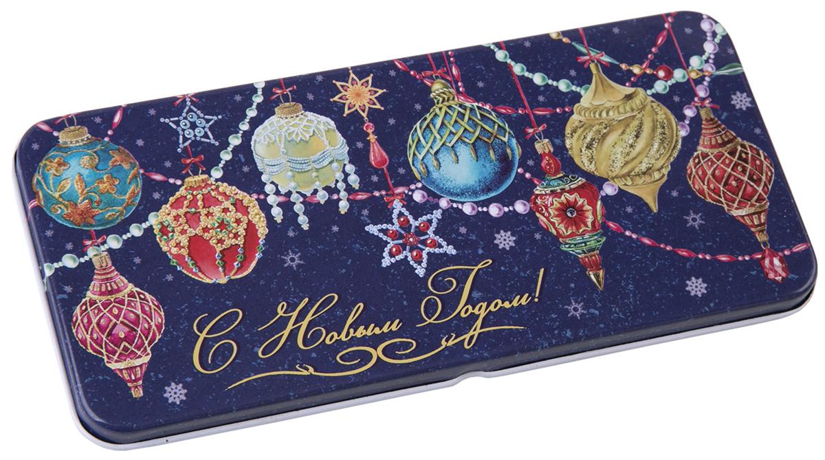 Коробочка для денег подарочная Magic Time Яркие игрушки. 7634376343Коробочка для денег Magic Time, выполненная из черного окрашенного металла. Крышка оформлена декоративным рисунком. Окружите близких людей вниманием и заботой, вручив презент в нарядном, праздничном оформлении.