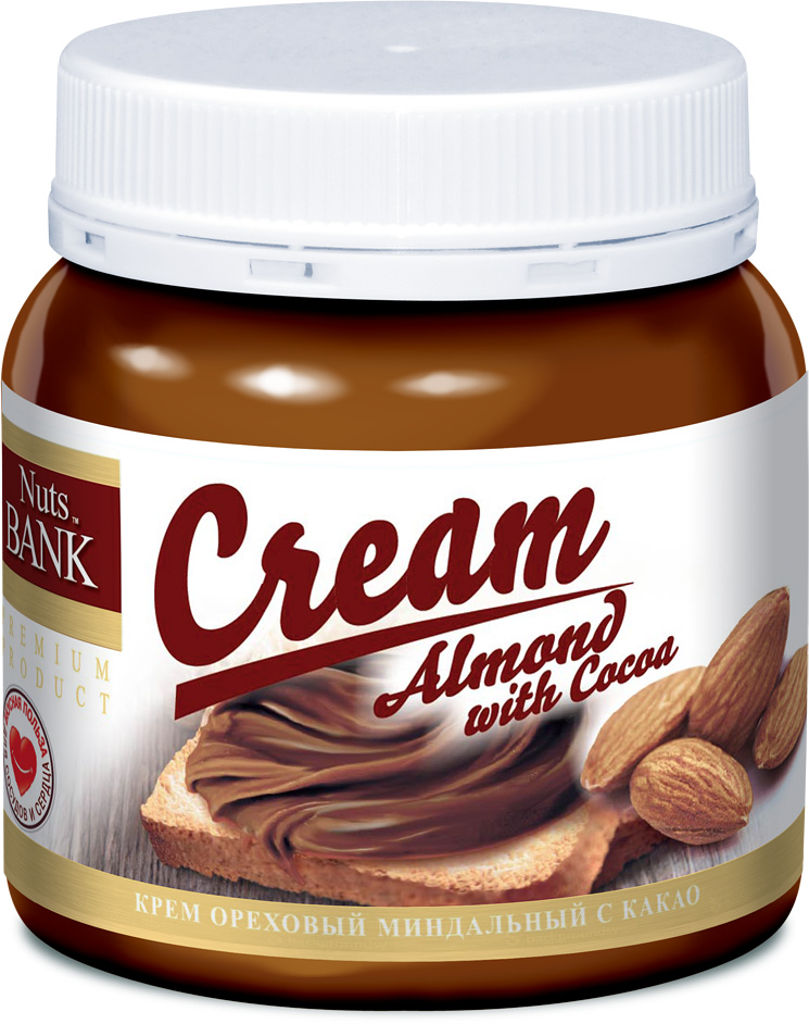 Nuts Bank Крем ореховый из миндаля с какао, 250 г nuts bank крем ореховый фисташковый 250 г