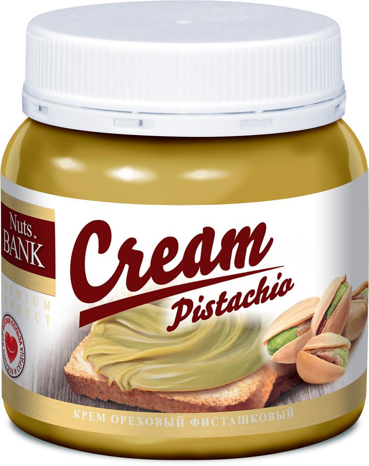 Nuts Bank Крем ореховый фисташковый, 250 г