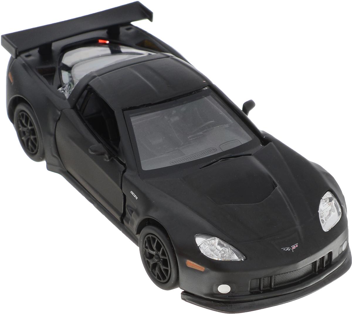 Autotime Модель автомобиля Chevrolet Corvette C6-R цвет черный motormax модель автомобиля corvette 1967 цвет черный