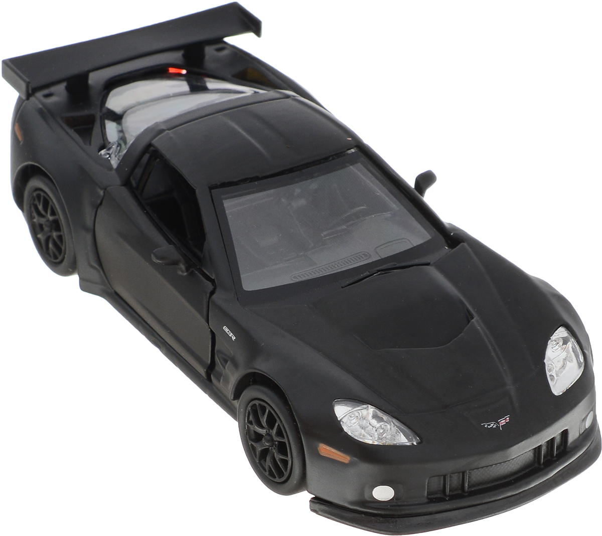 Autotime Модель автомобиля Chevrolet Corvette C6-R цвет черный машинки autotime машина uaz 31514 ваи