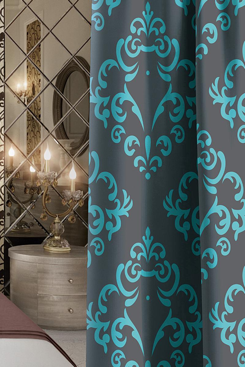 Штора Волшебная ночь Finesse, на ленте, цвет: темно-синий, высота 270 см704540Шторы коллекции Волшебная ночь - это готовое решение для Вашего интерьера, гарантирующее красоту, удобство и индивидуальный стиль! Длина штор регулируется с помощью клеевой паутинки (в комплекте). Изделия крепятся на вшитую шторную ленту: на крючки или путем продевания на карниз. Дизайнеры Марки предлагают уже сформированные комплекты штор из различных тканей и рисунков для создания идеальной композиции на окне. Для удобства выбора дизайны штор распределены в стилевые коллекции: ЭТНО, ВЕРСАЛЬ, ЛОФТ, ПРОВАНС. В коллекции Волшебная ночь к данной шторе Вы также сможете подобрать шторы из тканей: ВУАЛЬ - легкое затемнение, декоративная функция, БЛЭКАУТ (100% затемненение), сатен и ГАБАРДИН (частичное затемнение), которые будут прекрасно сочетаться по дизайну и обеспечат особый уют Вашему дому.