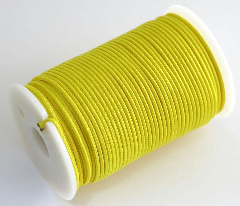 "Шнур полиамидный Solaris ""S6302"", на катушке, цвет: желтый, 1,8 мм х 40 м"