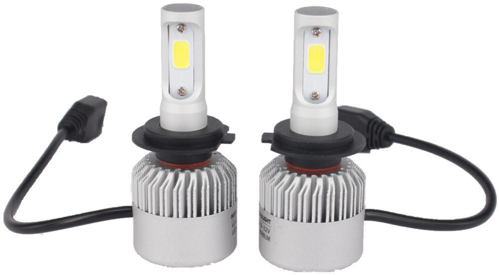 Лампа автомобильная светодиодная OsnovaLed, для фар, цоколь H7, 5000 К, 36 Вт, 2 шт1600000110687Автолампы для установки в головной свет автомобиля с родным цоколем Н7.
