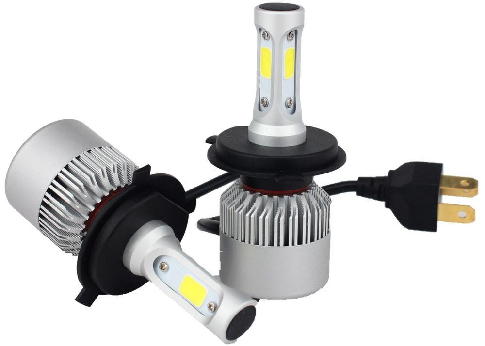 Лампа автомобильная светодиодная OsnovaLed, для фар, цоколь H4, 5000 К, 36 Вт, 2 шт1600000110724Автолампы для установки в головной свет автомобиля с родным цоколем Н4.
