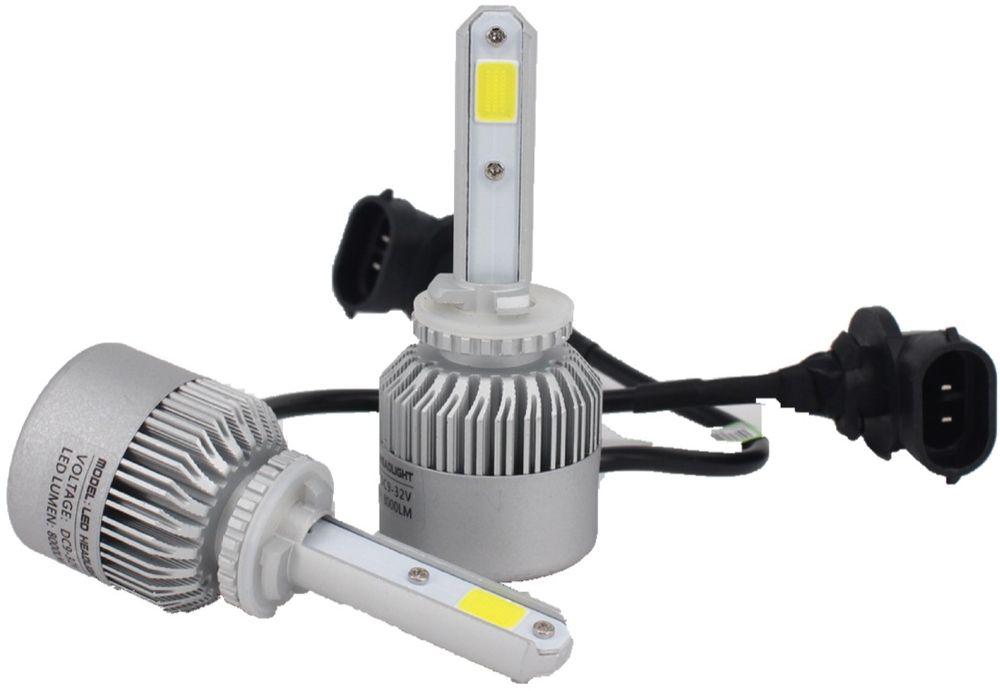 Лампа автомобильная светодиодная OsnovaLed, для фар, цоколь H27, 5000 К, 36 Вт, 2 шт1600000110762Автолампы для установки в головной свет автомобиля с родным цоколем 881.
