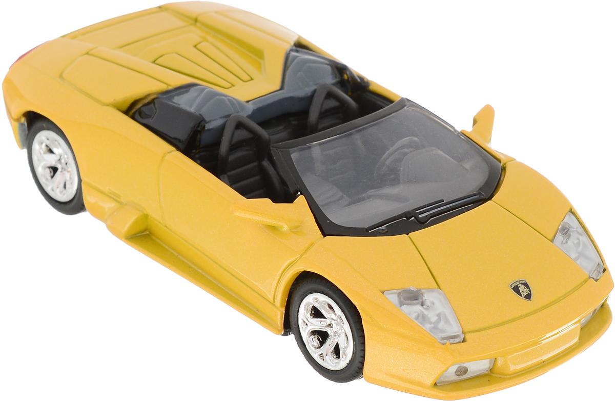 Autotime Модель автомобиля Lamborghini Murcielago Roadster цвет желтый машинки autotime машина uaz 31514 ваи