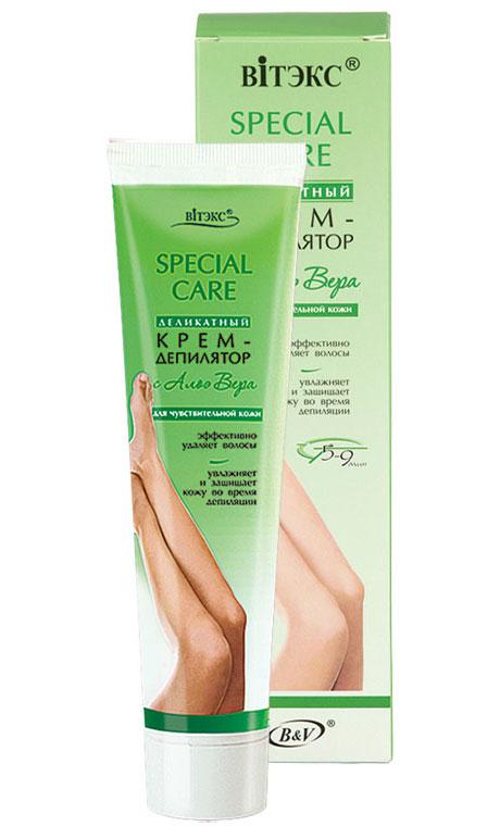 Витэкс Деликатный Крем-Депилятор с Алоэ Вера для чувствительной кожи, 120 млV-158Крем мягкого действия разработан с учетом особенностей чувствительной кожи. Содержит гель Алоэ Вера, который увлажняет и защищает от раздражений во время действия крема, успокаивает и восстанавливает кожу.Уже через 5-6* минут после нанесения крема Вы будете иметь потрясающе гладкую кожу.Уважаемые клиенты! Обращаем ваше внимание на то, что упаковка может иметь несколько видов дизайна. Поставка осуществляется в зависимости от наличия на складе.