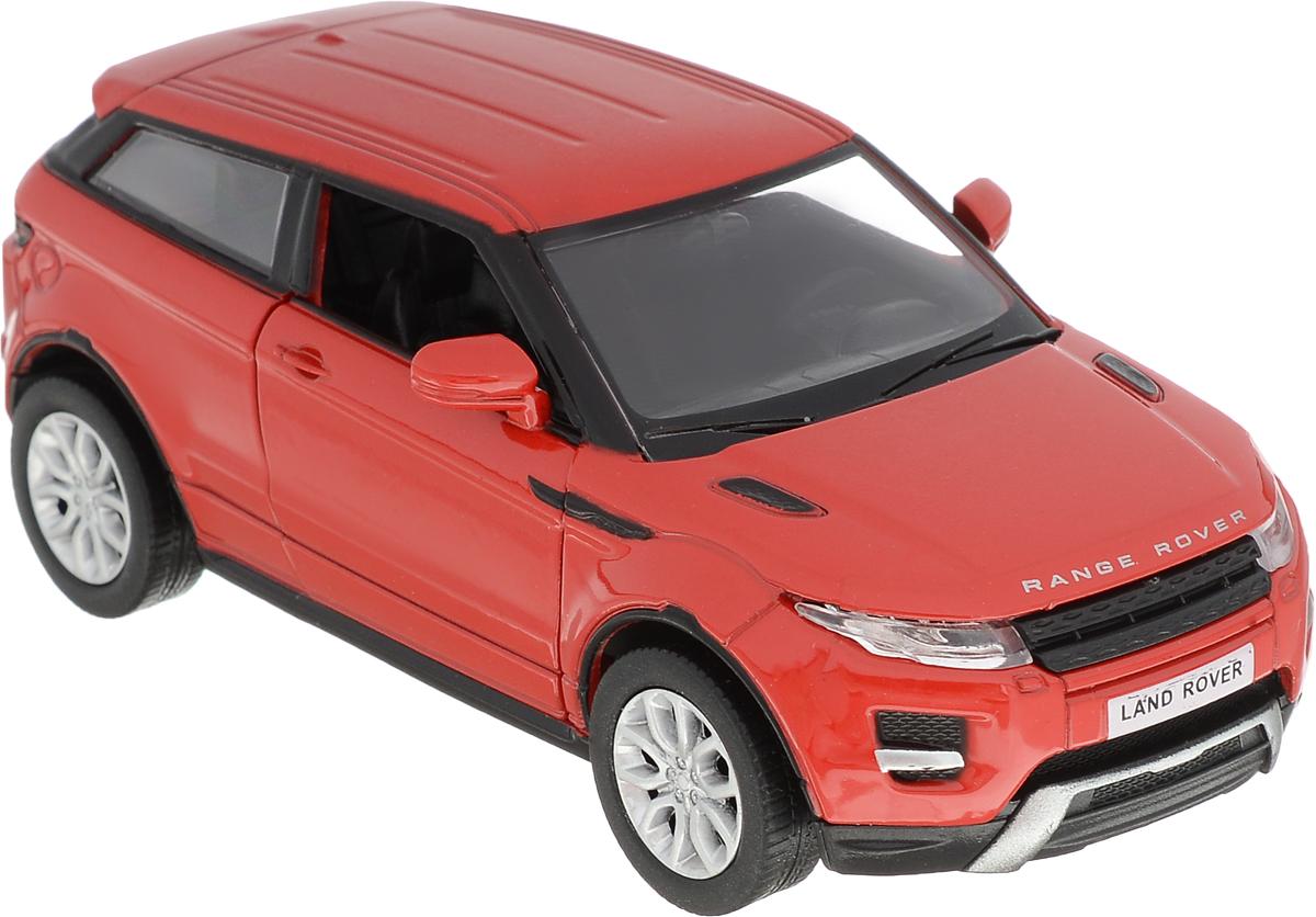Autotime Модель автомобиля Range Rover Evoque цвет красный autotime набор машинок recovery truck long эвакуатор с прицепом