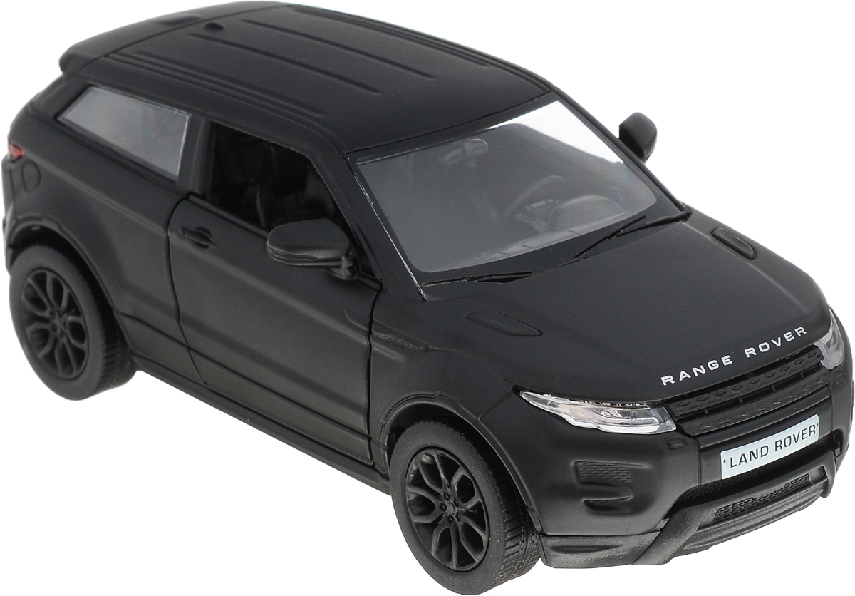 Autotime Модель автомобиля Range Rover Evoque цвет черный лицензионные диски фильмы купить