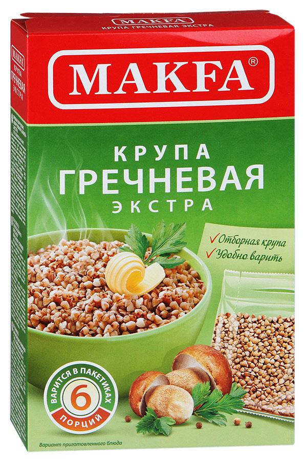 Makfa гречневая ядрица в пакетах для варки, 5 шт по 80 г makfa гречневая ядрица 800 г