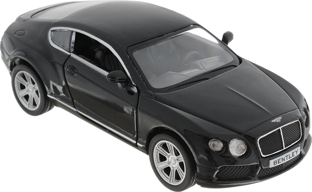 Autotime Модель автомобиля Bentley Continental Gt V8 цвет черный машинки autotime машина uaz 31514 ваи