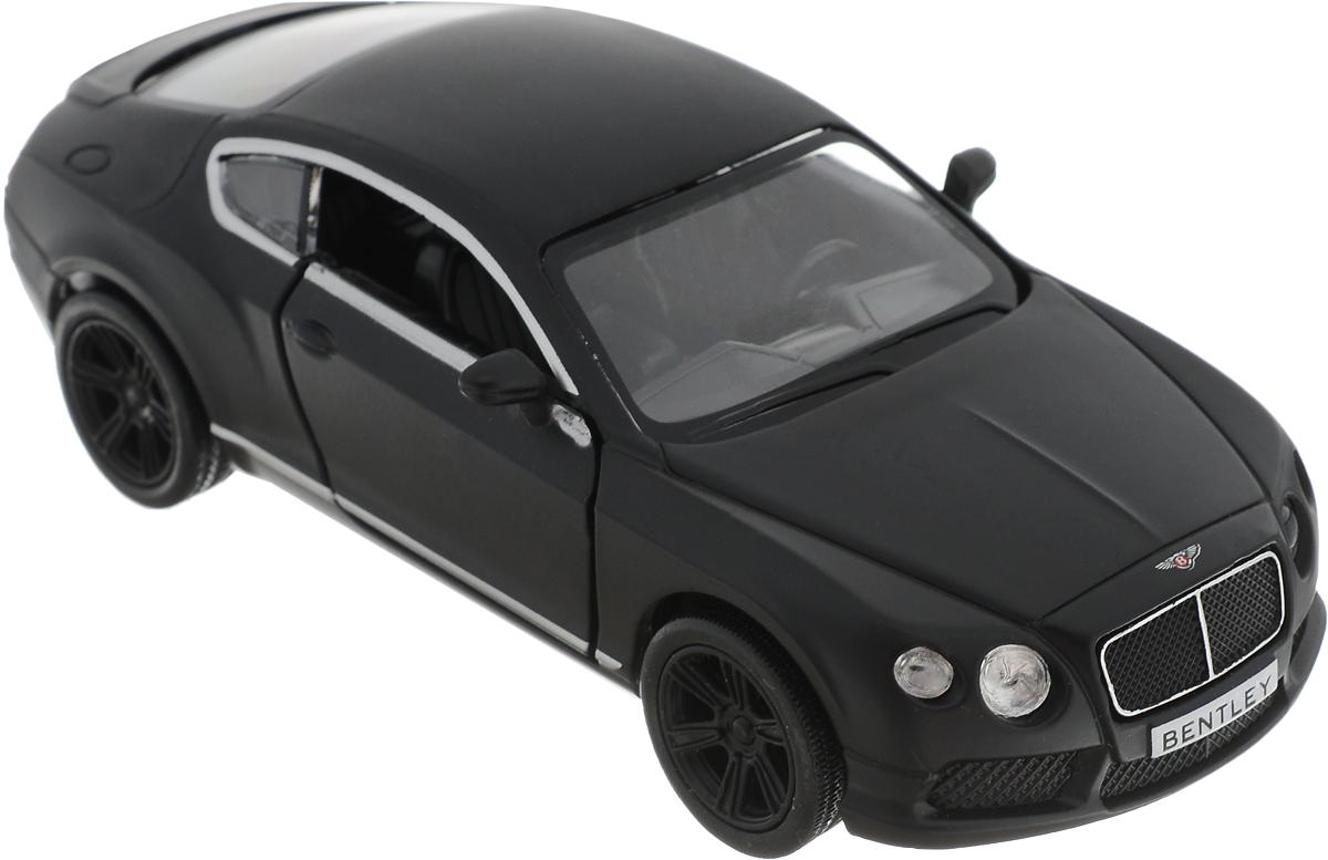 Autotime Модель автомобиля Bentley Continental GT V8 цвет черный autotime набор машинок recovery truck long эвакуатор с прицепом