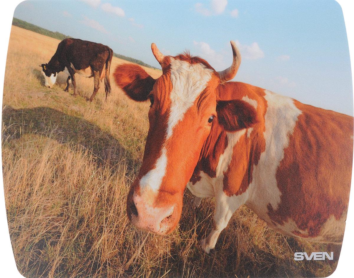 все цены на Sven UB SV-011130 Корова коврик для мыши