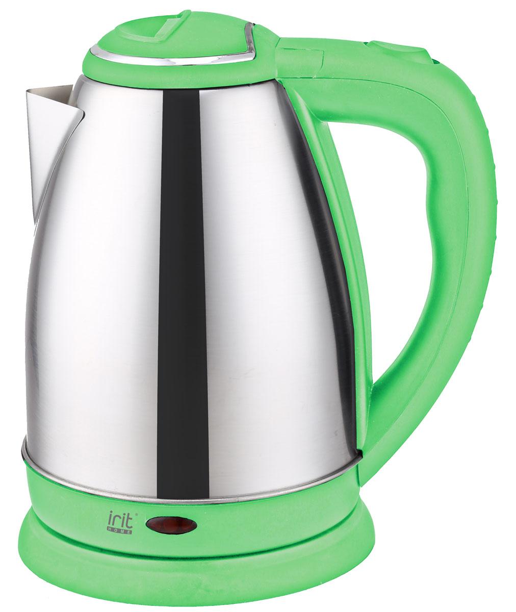 Irit IR-1337, Green электрический чайник электрический чайник irit ir 1314 silver red