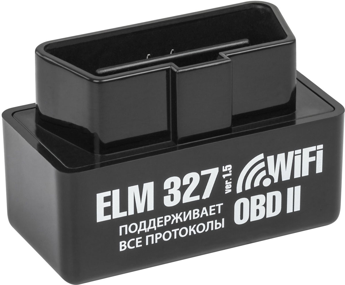 Адаптер автодиагностический Emitron ELM327 Wi-Fi. 00030003Адаптер ELM327Wi-Fi передаёт по беспроводной технологии Wi-Fi более 100 различных параметров на дисплей любого мобильного устройства или персонального компьютера. Адаптер поддерживает операционные системы (Apple iOS, Android, Windows XP, Windows Vista, Windows 7, Windows 8). Адаптером ELM 327Wi-Fi поддерживаются все протоколы OBD II и огромное количество специализированных диагностических программ. Функциональные возможности: Считывать диагностические коды ошибок, как стандартные (DTC), так и специальные коды производителя (MTC), а также отображать их значение. В базе насчитывается более 3000 кодов различных ошибок; Производить очистку ошибок и выключать MIL (лампочку Check Engine на приборной панели);Отображать значения различных датчиков в режиме реального времени. Технические характеристики: Антенна: ВнутренняяРабочее напряжение: DC 9 ~ 16VПотребляемая мощность: 0,75 mA Рабочая температура: -30 ? ~ +70 ?Температура хранения: -40 ? ~ +85 ?Влажность без образования инея: 5% ~ 95%Класс защиты: IP30Рабочий диапазон частот Wi-Fi: 2.4 ~ 2.5GHz Стандарт Wi-Fi: 802.11a/b/gМощность Wi-Fi модуля: -95dB @ 0.1% BER Дальность излучения Wi-Fi сигнала: 20мВстроенная схема защиты от перегрузки и короткого замыкания. Поддерживаемые протоколы OBD II: • ISO15765-4 (CAN-шина): Audi, Opel, VW, Ford, Jaguar, Renault, Peugeot, Chrysler, Porsche, Volvo, Saab, Mazda, Mitsubishi • ISO 14230-4 (KWP2000): Daewoo, Hyundai, KIA • ISO 9141-2: Honda, Infinity, Lexus, Nissan, Toyota, Audi, BMW, Mercedes, Porsche • SAE J1850 VPW: Buick, Cadillac, Chevrolet, Chrysler, Dodge, GM, Isuzu • SAE J1850 PWM: Ford, Lincoln, Mazda