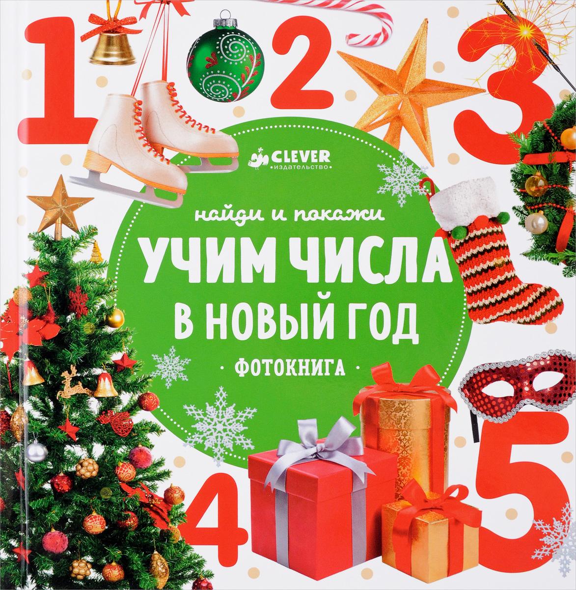 Анастасия Сотникова Найди и покажи. Учим числа в Новый год