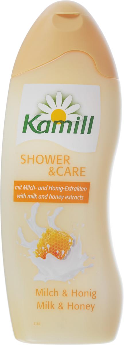 Kamill Гель для душа Молоко и мед, 250 мл26950270Линия гелей для душа Kamill балует кожу натуральными экстрактами растений и нежными ароматами. Выберите свой любимый аромат! Все гели прекрасно пенятся, легко наносятся на кожу и хорошо смываются, оставляя ощущение свежести и чистоты. Гель для душа Kamill Молоко и Мед обеспечивает успокаивающий увлажняющий уход за телом. Благодаря мягким моющим компонентам и нейтральному значению pH ваша кожа всегда остается нежной и гладкой.Уважаемые клиенты! Обращаем ваше внимание на то, что упаковка может иметь несколько видов дизайна. Поставка осуществляется в зависимости от наличия на складе.