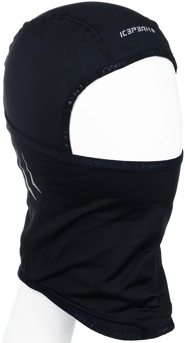 Шапка мужская Icepeak, цвет: черный. 858814584IV-990. Размер универсальный858814584IV-990
