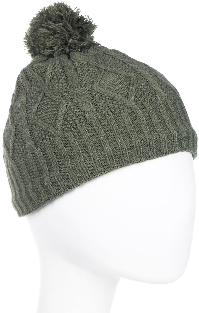 Шапка женская Icepeak, цвет: зеленый. 855841691IV-572. Размер универсальный