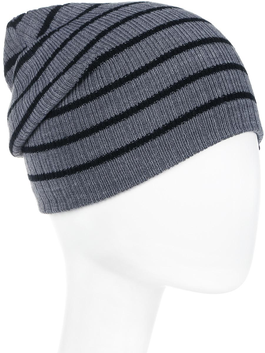 Шапка мужская Icepeak, цвет: серый, темно-серый. 858805579IV-817. Размер универсальный858805579IV-817