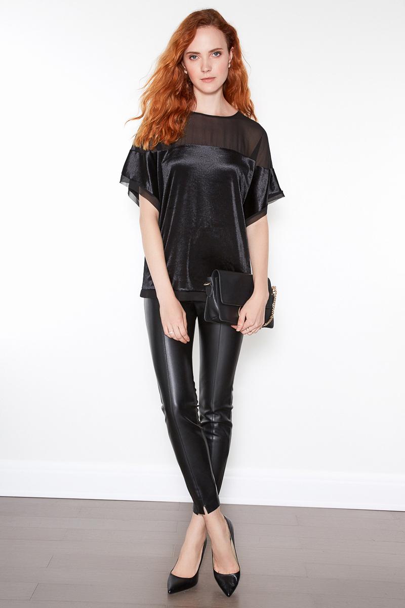 Блузка женская Concept Club Chiffy, цвет: черный. 10200270137. Размер M (46) юбка concept club vanya цвет черный 10200180223 100 размер m 46
