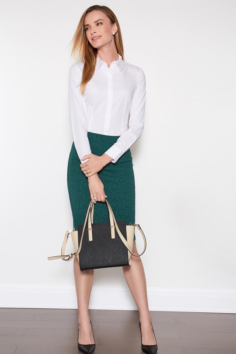 Блузка женская Concept Club Cowa 7, цвет: белый. 10200260178. Размер L (48)10200260178