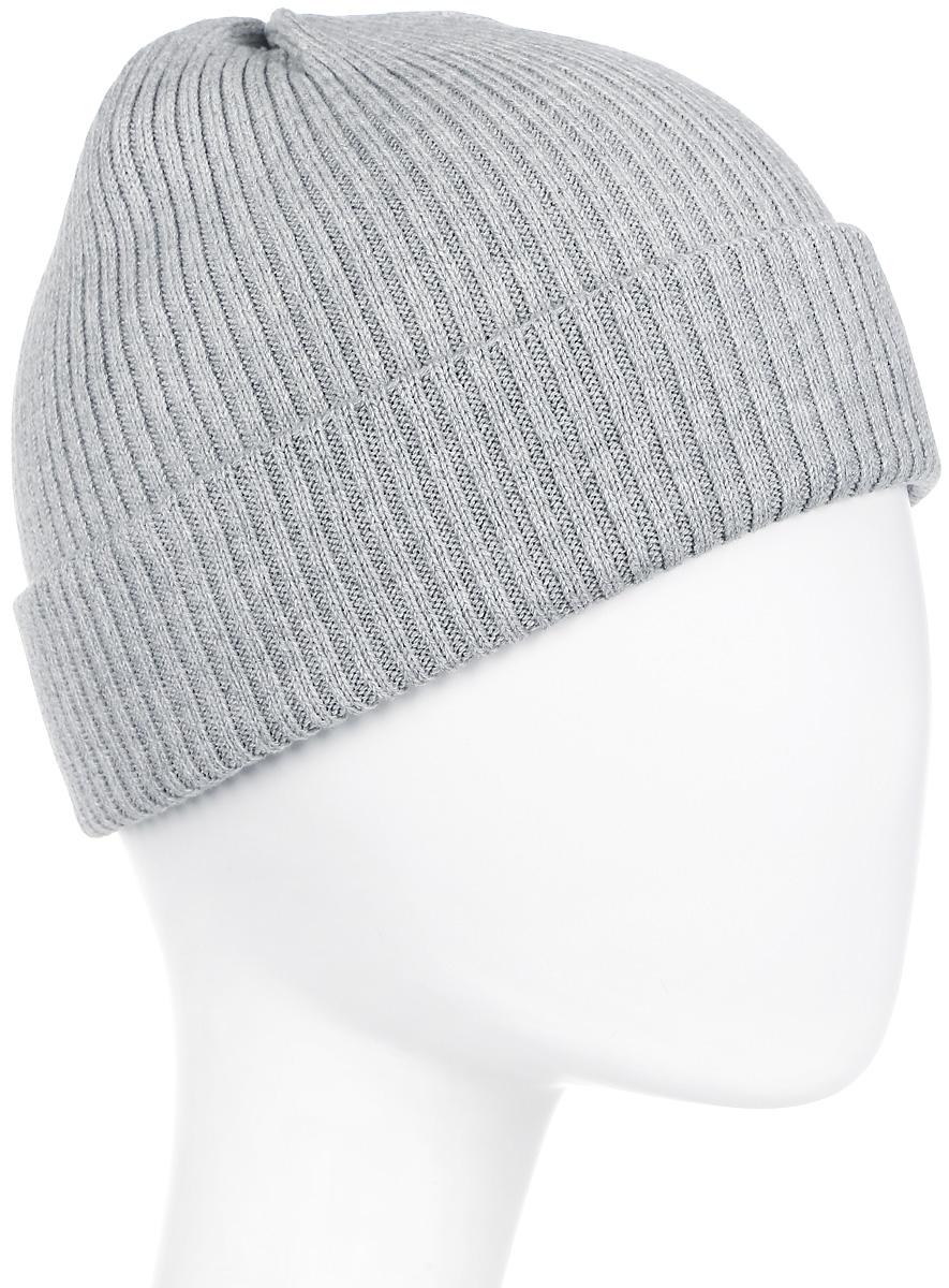 Шапка мужская Icepeak, цвет: серый. 858806830IV-810. Размер универсальный858806830IV-810