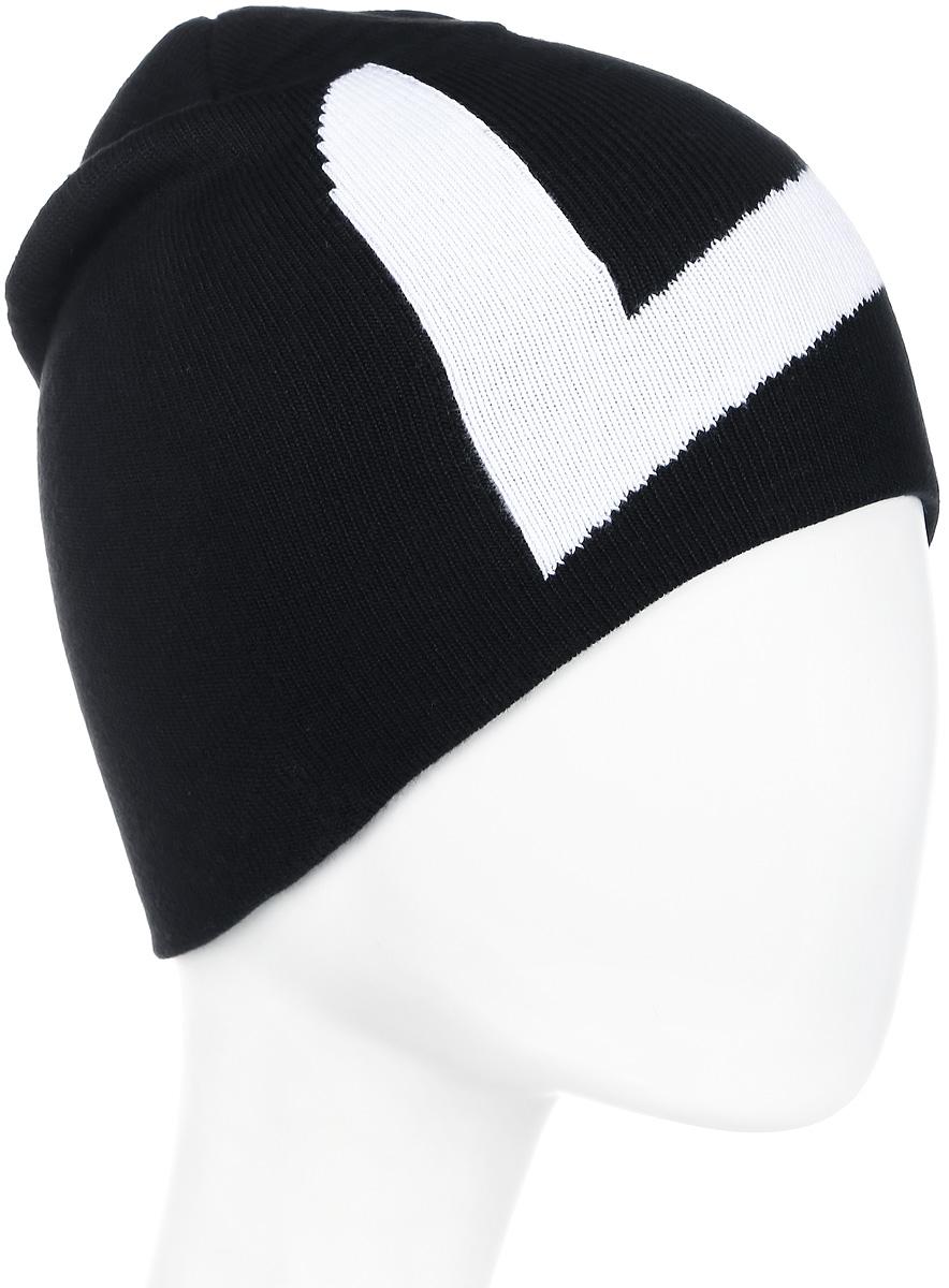 Шапка мужская Luhta, цвет: черный. 838658806LV-990. Размер универсальный838658806LV-990
