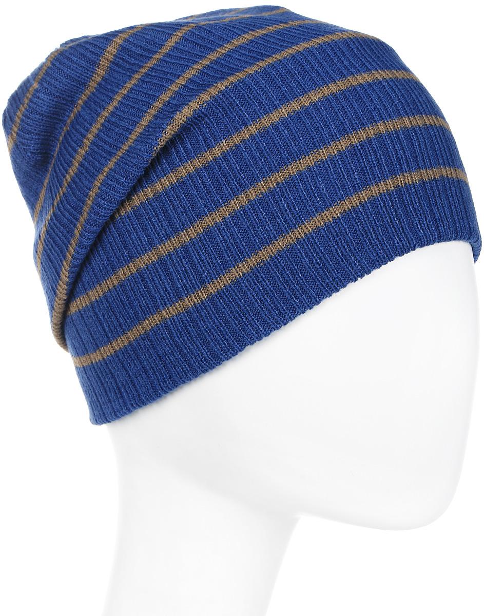 Шапка мужская Icepeak, цвет: синий, голубой. 858805579IV-365. Размер универсальный