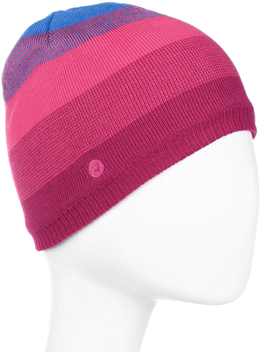 Шапка мужская Icepeak, цвет: красный, розовый. 858813579IV-668. Размер универсальный