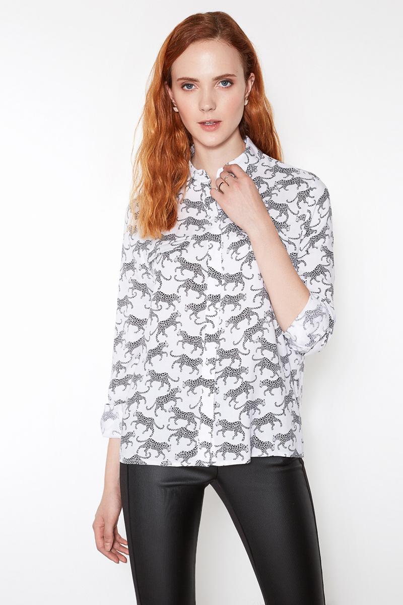 Блузка женская Concept Club Pirs, цвет: молочный. 10200260180. Размер XS (42) блузки elestrai блузка
