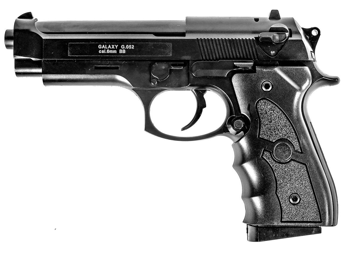 Пистолет софтэйр Galaxy G.052, пружинный, 6 мм