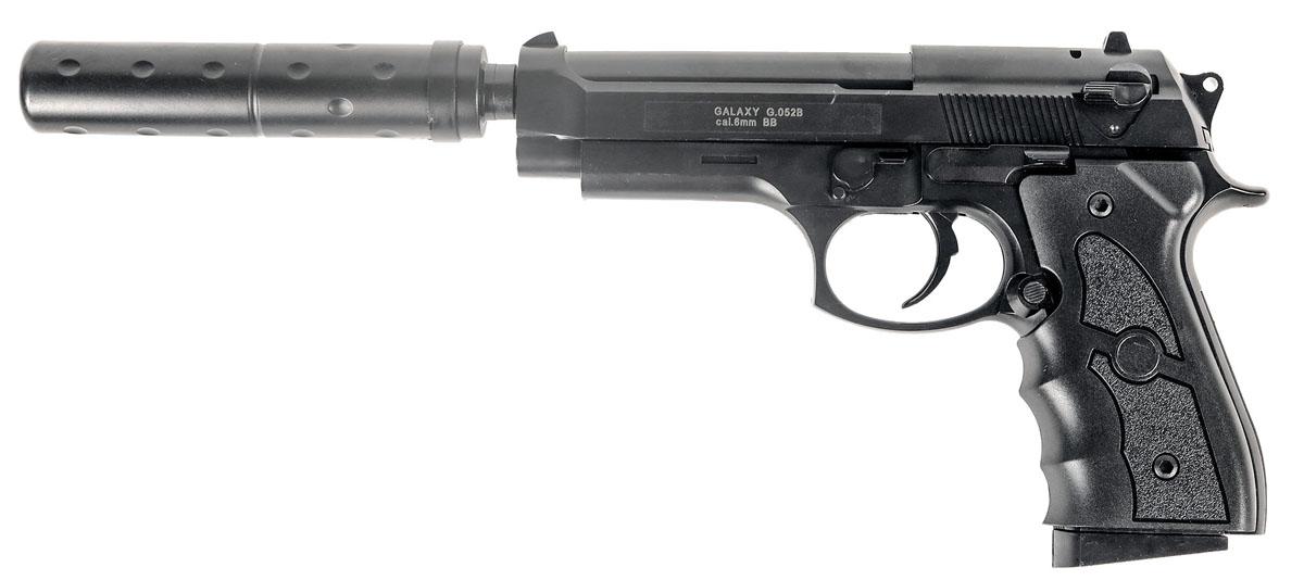 Пистолет софтэйр Galaxy G.052B, пружинный, 6 мм