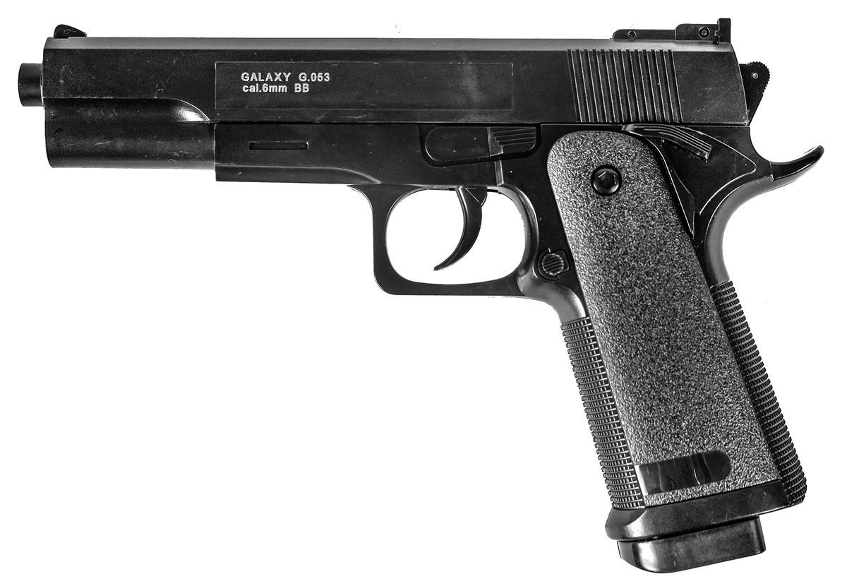 "Пистолет софтэйр Galaxy ""G.053"", пружинный, 6 мм, Galaxy."